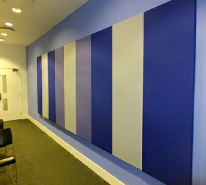BF-075 Tall Panels in meeting room