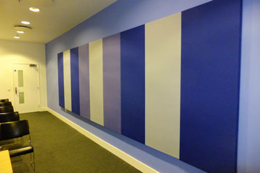Acoustic Panels used in meeting room