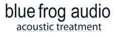 Blue Frog Audio Acoustic Treatment Logo